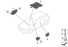 Electric parts, airbag