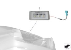 BMW luggage compartment light LED