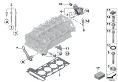 Cylinder Head//Mounting parts